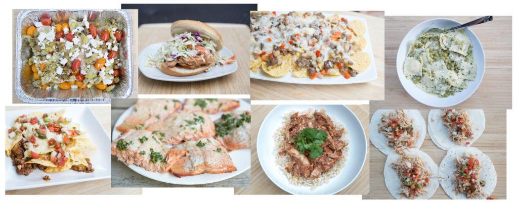 MyFreezEasy Sample Meals