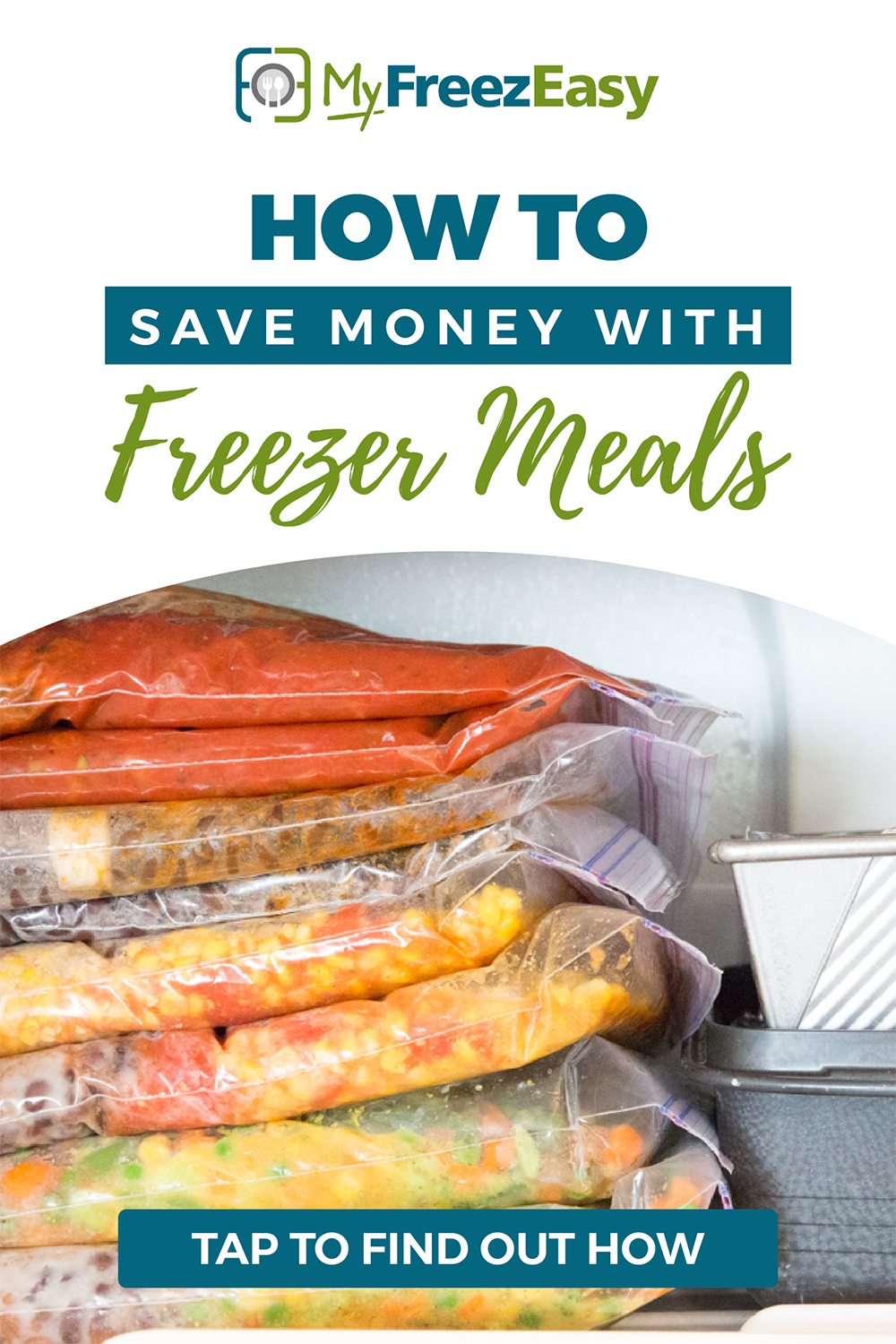 how to save money with freezer meals