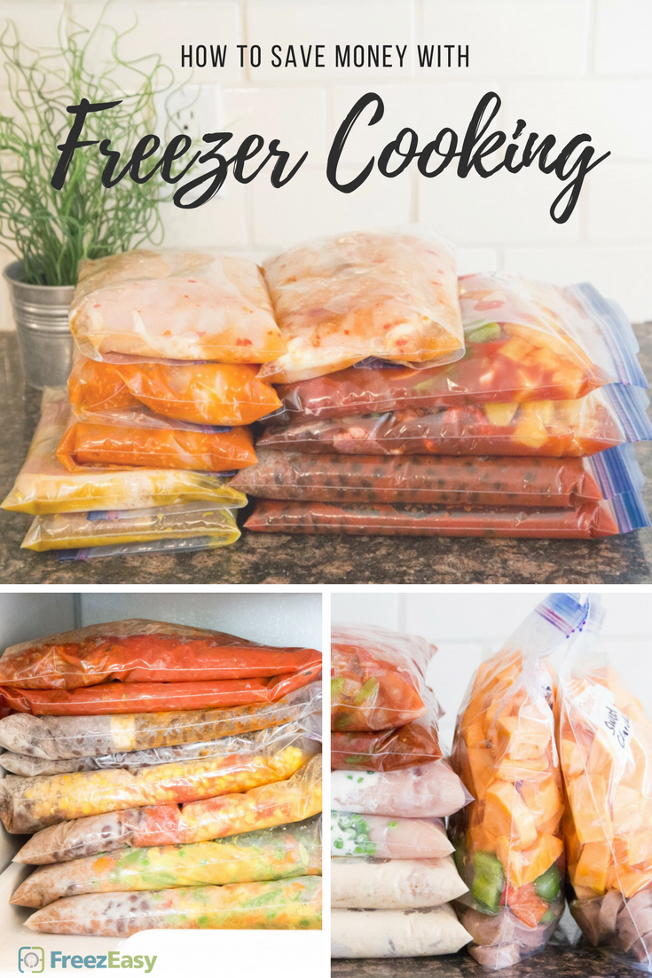 How to Save Money with Freezer Cooking