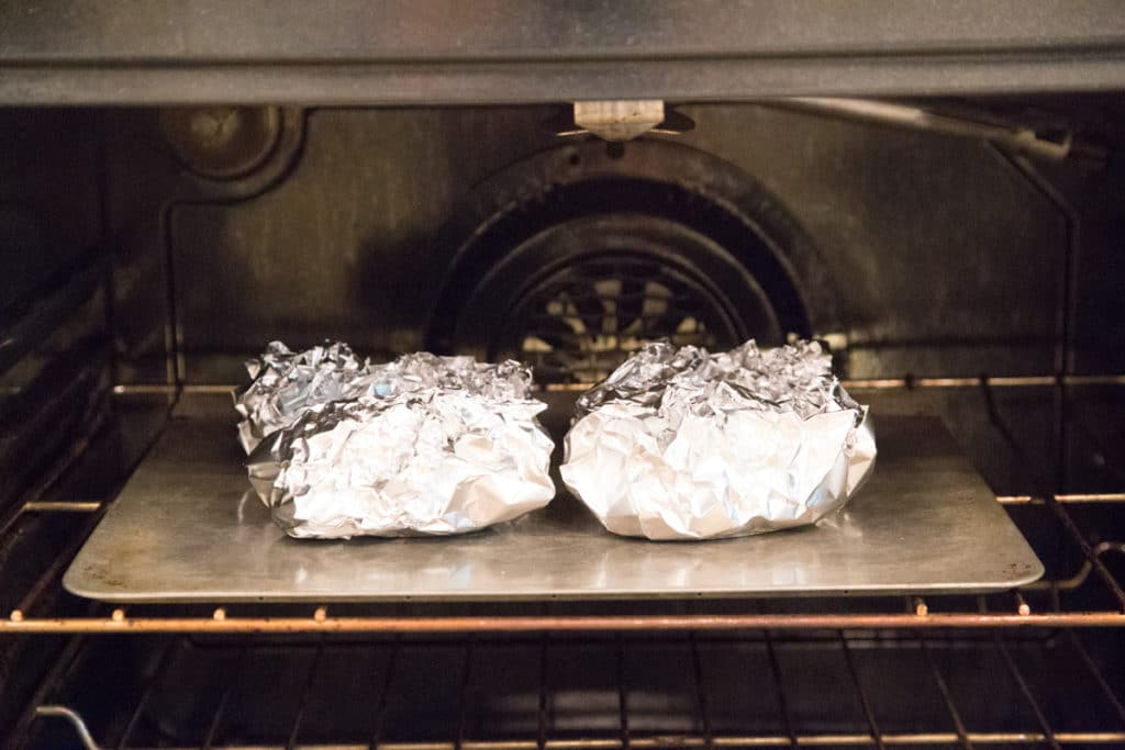 how to bake foil pack meals in oven