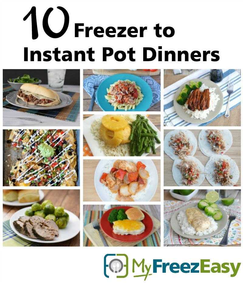 10 freezer to instant pot recipes myfreezeasy is your instant pot collecting more dust than meals forumfinder Gallery