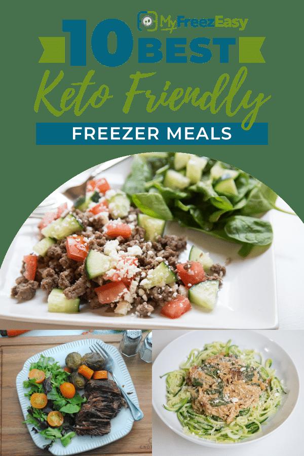 10 Best Keto Friendly Freezer Meals