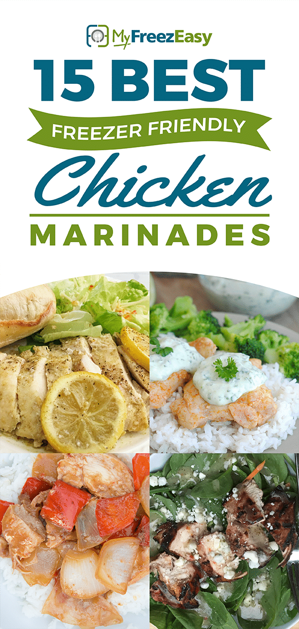 Best Freezer Friendly Chicken Marinades