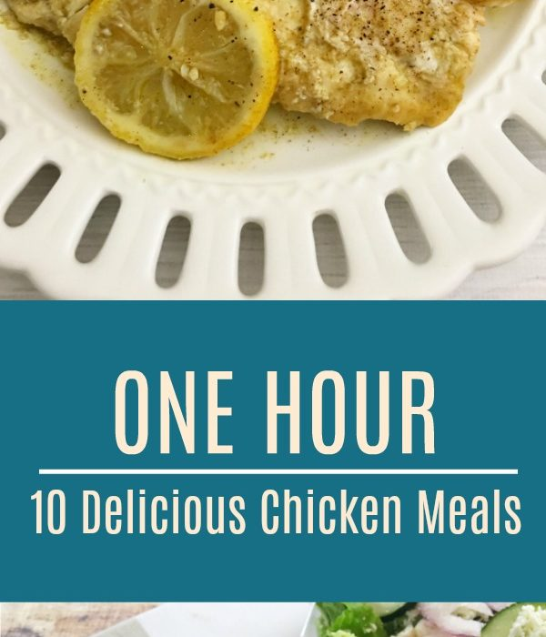 10 Delicious Chicken Freezer Meals, Made in 1 Hour!