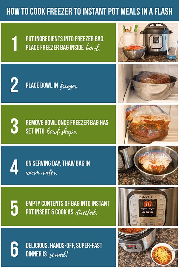 freezer to instant pot meals
