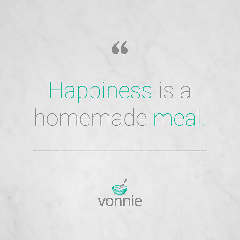vonnie happiness is homemade