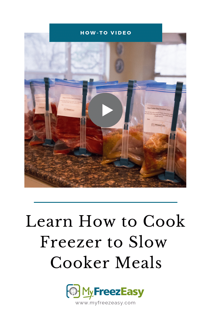 How to Cook Freezer to Slow Cooker Meals VIDEO