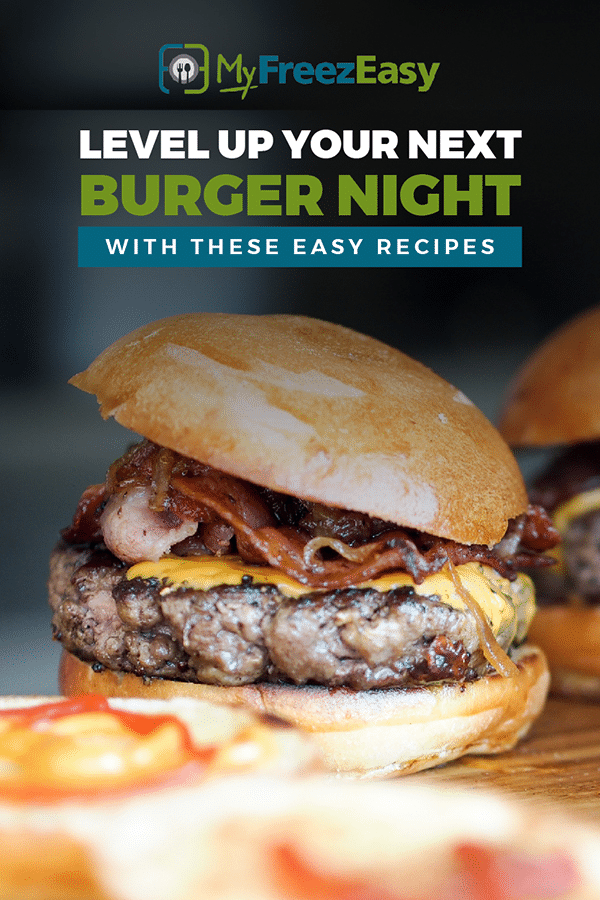 make ahead burger recipes
