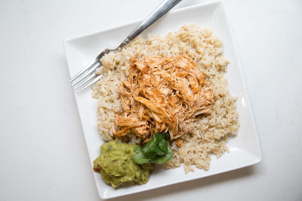 instant pot enchilada chicken