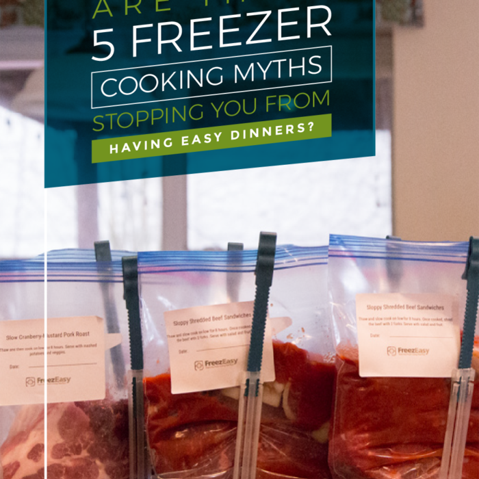 5 Common Freezer Cooking Myths