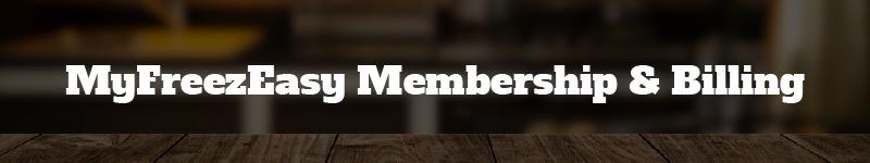 membership and billing