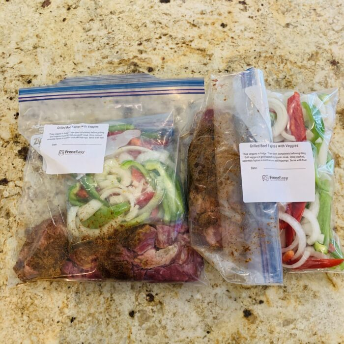 How to Freeze Two-Bag Meals