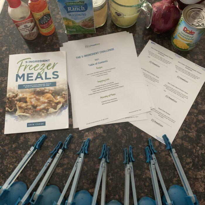 PHOTOS: 5-Ingredient Freezer Meals Challenge